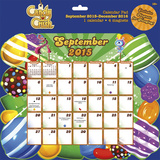 Candy Crush - 2016 Calendar Pad Calendars