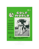 Signed Arnold Palmer's First Golf World Cover Limited Edition Limited Edition