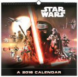 Star Wars Episode VII - 2016 Deluxe Calendar Calendars