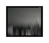 Chrysler Building Motion Landscape 2 Giclee Print by Len Prince