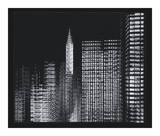 Chrysler Building Motion Landscape 3 Poster by Len Prince