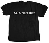Against Me! - Logo Shirts