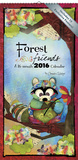 Forest Friends - Connie Haley - 2016 Mini Poster Calendar Calendars