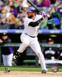 Charlie Blackmon 2014 Action Photo