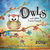 Owls - Connie Haley - 2016 Calendar Calendars
