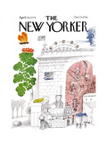 The New Yorker Cover - April 30, 1979 Regular Giclee Print by Joseph Low
