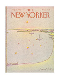 The New Yorker Cover - August 30, 1982 Premium Giclee Print by Eugène Mihaesco