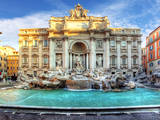 Trevi Fountain, Rome, Italy. Photographic Print by  TTstudio