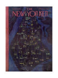 The New Yorker Cover - December 23, 1950 Regular Giclee Print by  Alain