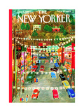 The New Yorker Cover - December 9, 1950 Regular Giclee Print by Ilonka Karasz