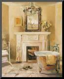 French Bath IV Mounted Print by Marilyn Hageman