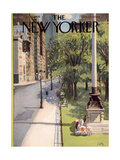 The New Yorker Cover - May 31, 1958 Premium Giclee Print by Arthur Getz