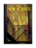 The New Yorker Cover - September 21, 1968 Premium Giclee Print by Arthur Getz