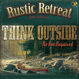 Rustic Retreat - 2016 Calendar Calendars