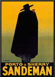Porto and Sherry Sandeman, 1931 Mounted Print by Georges Massiot