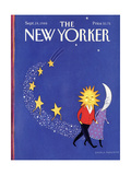The New Yorker Cover - September 19, 1988 Premium Giclee Print by Pamela Paparone