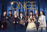 Once Upon A Time - Cast Print