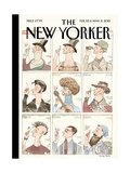 The New Yorker Cover - February 23, 2015 Regular Giclee Print by Barry Blitt