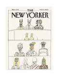 The New Yorker Cover - March 8, 2004 Premium Giclee Print by Saul Steinberg