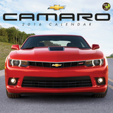 Camaro - 2016 Calendar Calendars