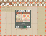 Kraft - 2016 17 Month Blotter Calendar Calendars