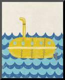 Truman's Voyage IV Mounted Print by Chariklia Zarris