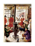 The New Yorker Cover - November 8, 1952 Regular Giclee Print by Constantin Alajalov