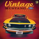 Vintage Mustangs - 2016 Calendar Calendars