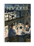 The New Yorker Cover - February 7, 1948 Premium Giclee Print by Constantin Alajalov