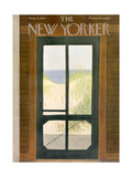 The New Yorker Cover - August 8, 1953 Premium Giclee Print by Edna Eicke