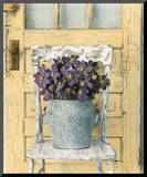 Cottage Bouquet II Mounted Print by Cristin Atria