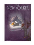 The New Yorker Cover - January 19, 1957 Regular Giclee Print by Edna Eicke