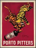 Porto Pitters Mounted Print by Leonetto Cappiello