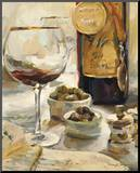 Award Winning Wine I Mounted Print by Marilyn Hageman