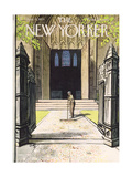The New Yorker Cover - June 4, 1955 Premium Giclee Print by Arthur Getz