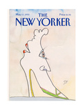 The New Yorker Cover - May 17, 1993 Premium Giclee Print by Saul Steinberg