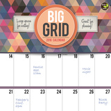 Big Grid Design - 2016 Calendar Calendars