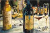 Bordeaux and Muscat Mounted Print by Marilyn Hageman