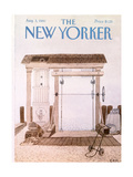 The New Yorker Cover - August 3, 1981 Regular Giclee Print by Charles E. Martin