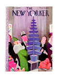 The New Yorker Cover - December 18, 1937 Regular Giclee Print by William Cotton