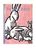 The New Yorker Cover - April 17, 1965 Premium Giclee Print by Peter Arno