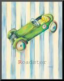 Roadster Mounted Print by Catherine Richards