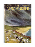 The New Yorker Cover - October 1, 1966 Premium Giclee Print by James Stevenson