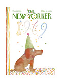 The New Yorker Cover - December 28, 1968 Premium Giclee Print by Andre Francois