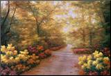 September Song Mounted Print by Diane Romanello