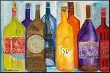 Viva la Bourgogne Mounted Print by Alexa Tava