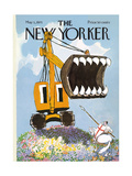 The New Yorker Cover - May 1, 1971 Premium Giclee Print by Mischa Richter