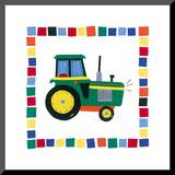 Tractor Mounted Print by Sophie Harding