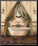 Classical Bath II Mounted Print by Marilyn Hageman