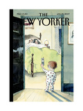 The New Yorker Cover - January 29, 2007 Regular Giclee Print by Barry Blitt